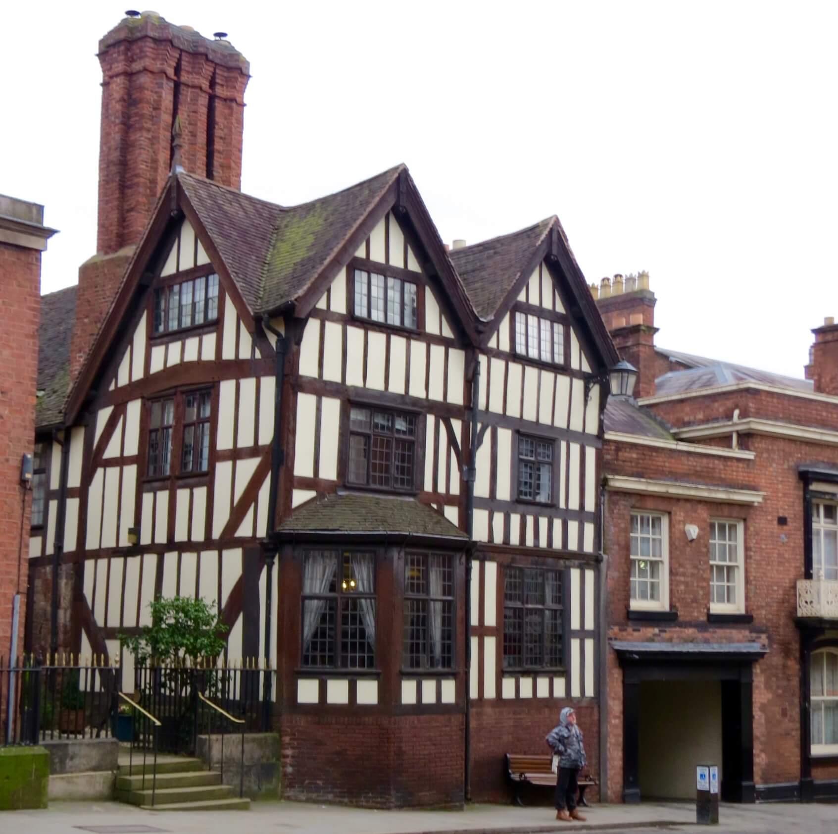 Timber Framed House Shrewsbury